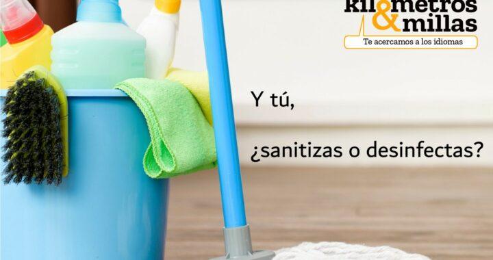 Palabra del día: sanitizar